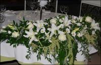 Оформление торжеств цветами