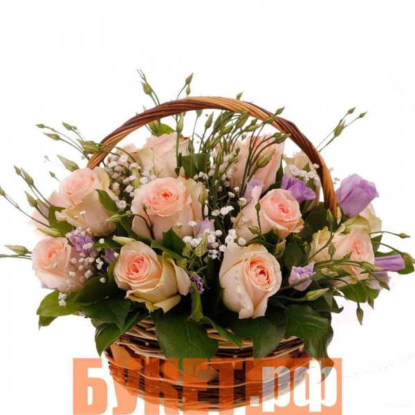 Цветочная корзина «Дар лета»