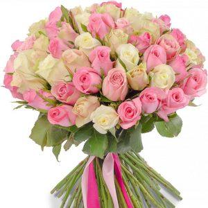 Букет «Нежность сердца» с доставкой по Москве в салоне цветов БУКЕТ.РФ